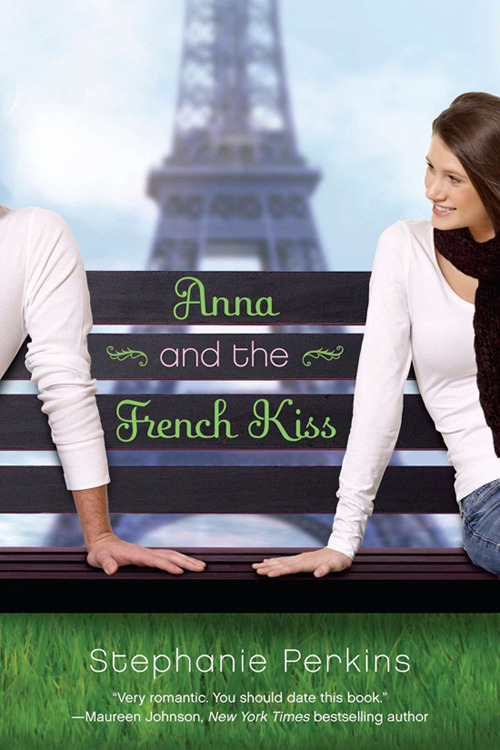 "naturallysteph:  TODAY!One day only!Anna and the French Kiss!$2.99!Ebook!(Cheaper than a Big Mac!) PURCHASE FROM:Penguin Amazon Barnes and Noble Kobo iBookstore  if you like lighter YA, romance stories, and incredibly loveable characters, i think you should pick this up. i have a rule about not reading books with ""kiss"" in the title, but stephanie was very sweet an funny when i saw her at leakycon '11, so i picked this up on anyway. let me tell you, this book blew me away. i enjoy silly, girly, romantic movies like this, but i generally don't like books in this genre. i just can't spend more than two hours hearing about people whose biggest problem is that the person they want to kiss can't/won't kiss them. i tore through this in a single day and was on a roller coaster of feelings the whole time, though. stephanie's writing is fresh and fun, her characters are (mostly) fully developed and interesting, and the love story she weaves is entrancing. (when you finish, definitely also pick up lola and the boy next door, which is in the same universe and a sequel of sorts.)"