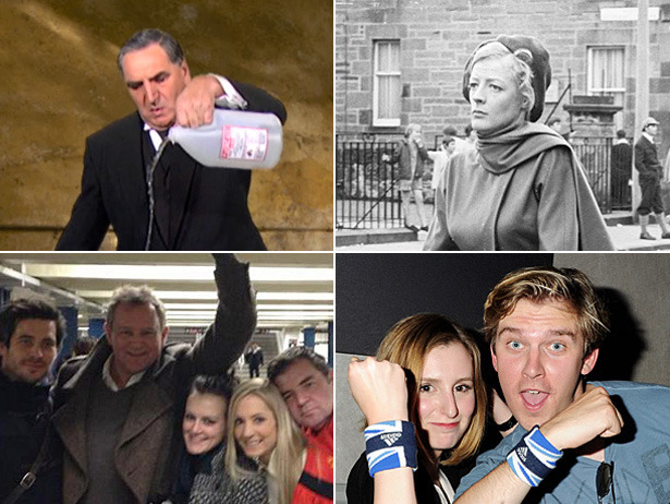 Downton Abbey returns to TV tonight, and to celebrate we found 15 instances of the lovely cast looking downright un-Downton!
