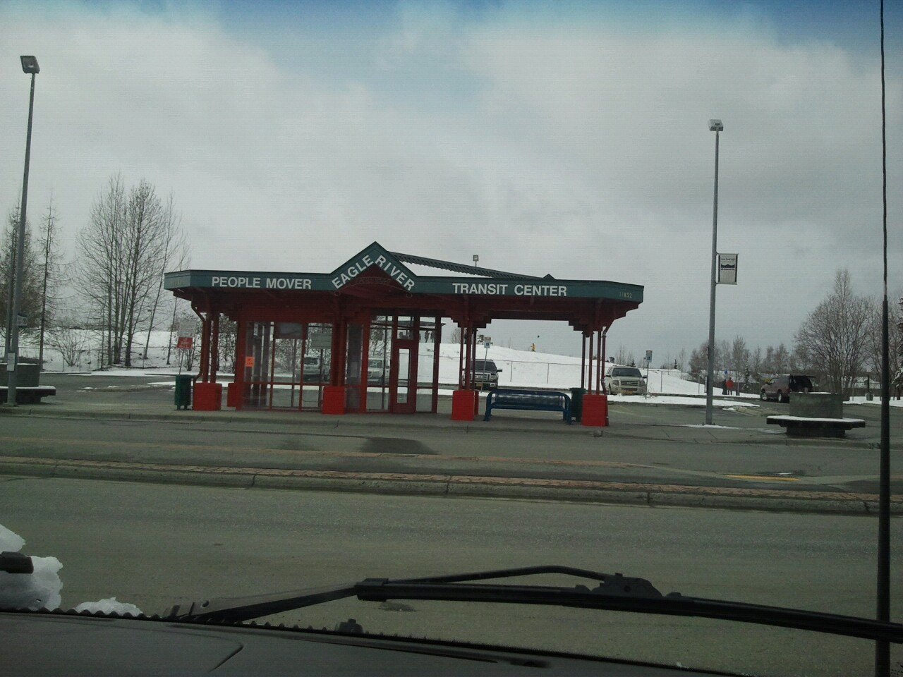 Eagle River town square at 3:42 pm on May 18th, 2013. This is officially the longest snow season on record since we began recording in 1911.