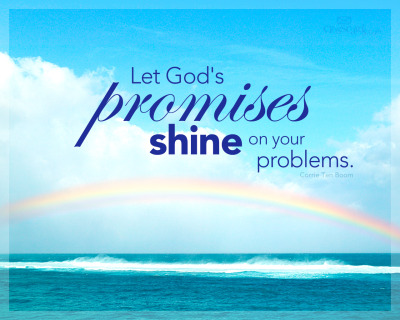 anchoredinchrist4ever:  anchoredinChrist4ever: Let God's promises shine on your problems <3