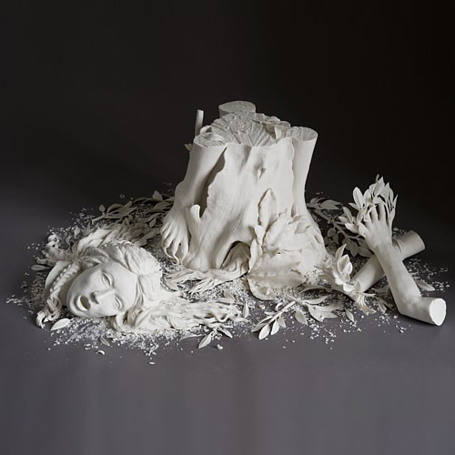 "fyeahwomenartists:  Kate MacDowellDaphne, 2007  (via Kate MacDowell - ""daphne"")"