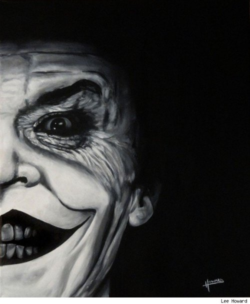 Jack Nicholson Joker by Lee Howard