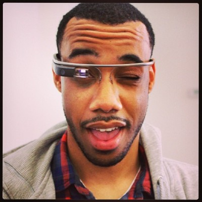 Meet iKevin. #googleglass