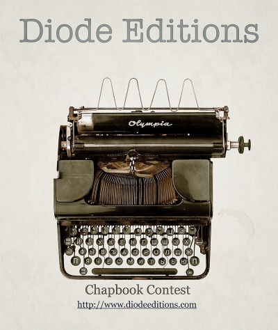 There's still time to submit to the 2012 Diode Editions Chapbook Contest! http://www.diodeeditions.com