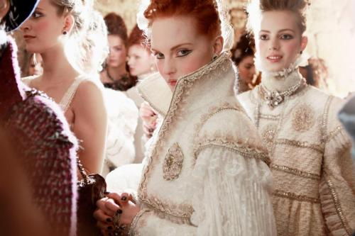 simple-classy:  Chanel backstage at the Paris-Édimbourg Métiers d'Art 2012/13