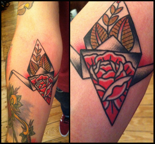 headhearthandstattoo:  Rose Crane, Thanks for looking!