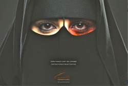 joelegomez:  First ever Saudi Arabian female abuse ad. Ad Agency: Memac Ogilvy, Riyadh  I respect this