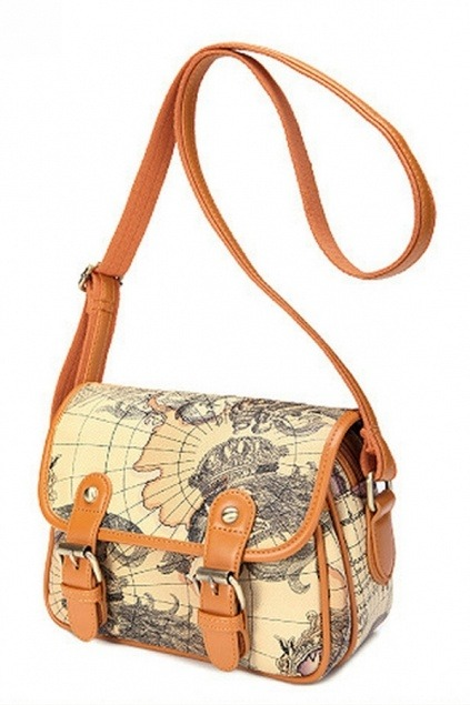 pumpkinpiestyle:  Columbus' Voyage Messenger Bag