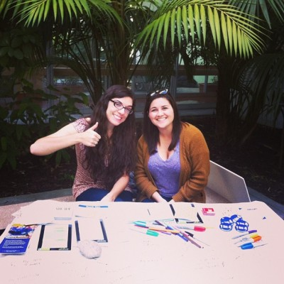 Tabling all day errday for the best club at #UCSB - #ActiveMinds! :) @mohubb #NEDAW