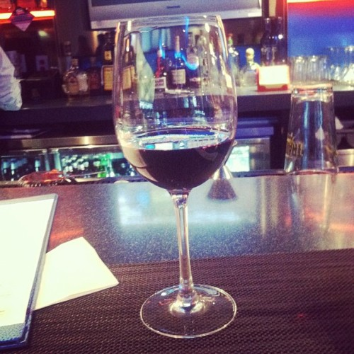Last drink on American soil for 8 days. (at Drink Martini Bar)
