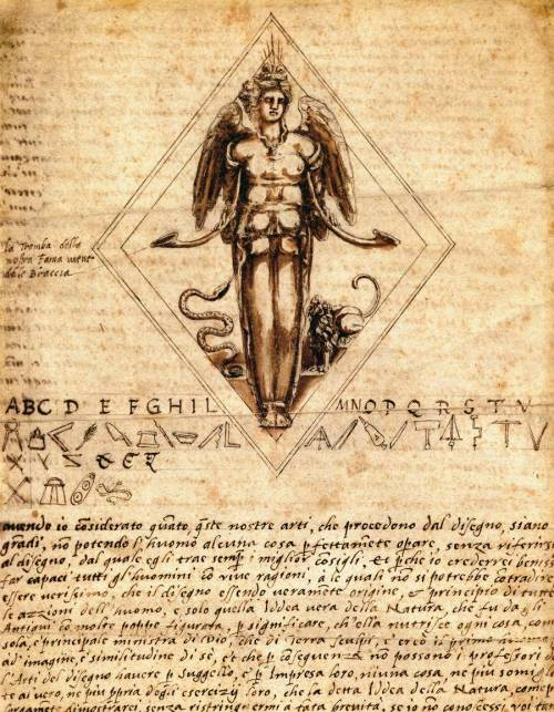 renaissance-art:  Benvenuto Cellini c. 1563-1569 Project for a Seal