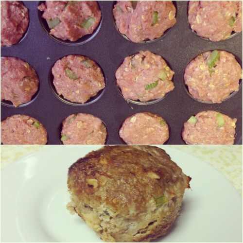 Made Jaime Eason's Turkey Meatloaf Muffins using this recipe. Each muffin is 140 calories/ 3PP+ each. Going to freeze these muffins & eat them for lunch this week.   Recipe: http://candyscleancooking.blogspot.com/2012/10/turkey-muffins.html?m=1