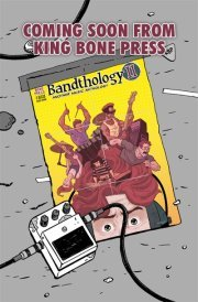 ladiesnightcomics:  The latest edition of the music themed anthology, Bandthology, is here! Come celebrate with King Bone Press and some of the great talent involved with the book tomorrow at Third Coast Comics from 12-4!  Come out, hang with us, eat some cupcakes and buy a copy of Bandthology 2 tomorrow!