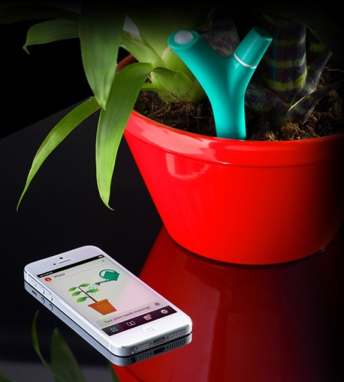 (via Parrot Flower Power - The most advanced plant sensor)
