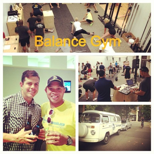 The @balancegym grand opening at the Fairmont Hotel. (at balance gym - foggy bottom @ the fairmont)