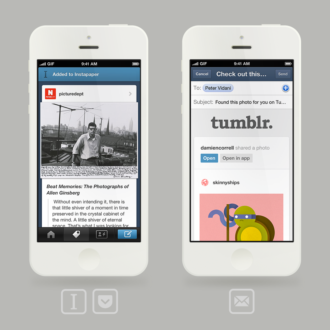 david:  Some awesome updates for iPhone today!  Instapaper integration!
