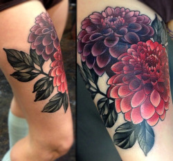 tattoos:  Amanda Grace Leadman at Black 13 Tattoo