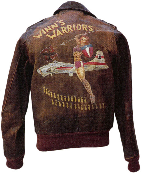 WWII War Paint: How Bomber Jacket Art Emboldened Our Boys (Collector's Weekly)