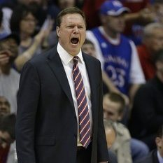 "Wednesday's loss to TCU was quite possibly the worst upset in KU's history, but it was also notable as the first time KU had lost back-to-back games since 2006. Today's 72-66 loss at Oklahoma takes them back to 2005, when they dropped consecutive games to Texas Tech, Iowa State and, yep, Oklahoma in February play. Bill Self reached even farther back into the mists of time to describe his current team's surprising streak of futility, saying that this team was the worst KU had put on the floor since James Naismith ""lost to the YMCA."" Naismith did, in fact, lose to the Muscatine, Iowa YMCA in 1902 on his way to a 5-7 record, and Self's hyperbole was clearly meant to sting his slumping team into action. It didn't work. The aura of invincibility the KU program has lorded over the Big 12 for nearly a decade has cracked, fractured, and fallen completely away during this bad stretch. (via Kansas is turning back the clock, and not in a good way 