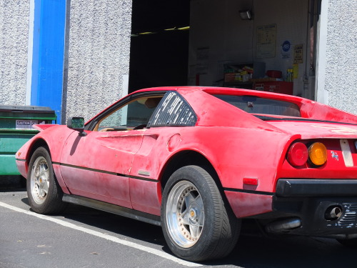 theacceptedeclectic:  Saw this Ferrari 288 GTO at the shop today.