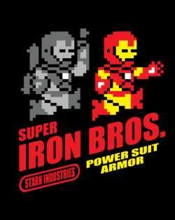 "shirt-alert:  ""Super Iron Bros"" tee available today for $10 at https://www.shirtpunch.com/"