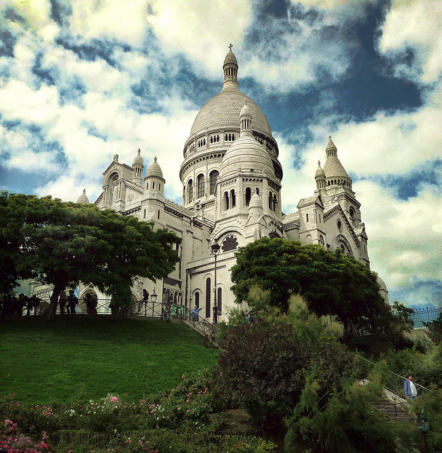 | ♕ |  Sacré-Cœur - Montmartre, Paris  | by © Visualtricks
