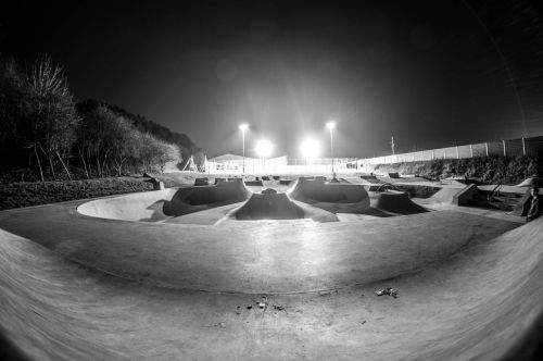 Midsomer Norton Skatepark in Somerset UK. Photo by Kieran Doherty - www.500px.com/KierDoherty