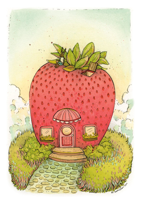 Fruit House's by Nicole Gustafsson / Blog / Store