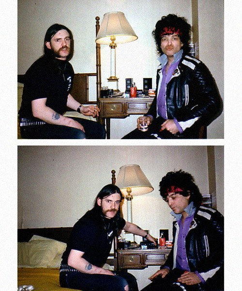 mrgonzalo:  Lemmy Kilminster y Alan Vega.