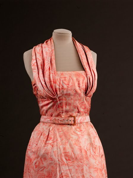 Dior dress spring/summer 1953 From the Musee Galliera via Eclectic Jewelry and Fashion
