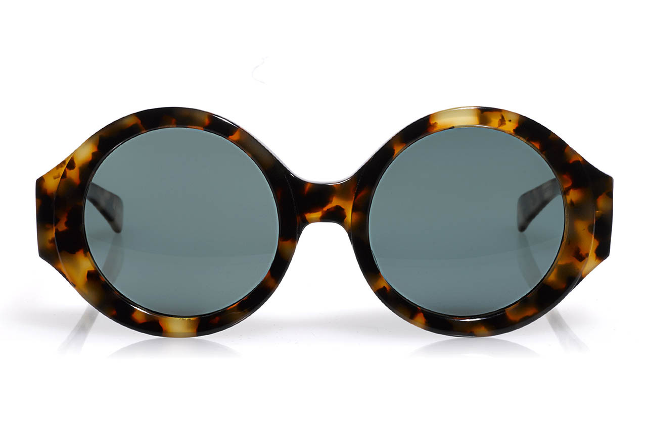 "SHADED Iris Apfel's personality-packed sunglass collection for Eyebobs [[MORE]]  Iris Apfel's round statement glasses have long been her signature. The style icon, who rose to international fame when New York's Metropolitan Museum of Art presented its exhibition entitled Rara Avis: The Irreverent Iris Apfel, has lent her look to Minneapolis-based eyewear label, Eyebobs. The partnership first started when Eyebobs created a limited-edition frame inspired by the geriatric starlet (called the Iris, of course). It has since expanded into full-on collection of readers, sun readers, and polarized sunglasses designed by Apfel. ""I've never been trained as a fashion designer in terms of cutting, draping, or sewing, but I've been a designer my whole life. It happened to be in interiors and home furnishings,"" she tells CR. ""The more I design accessories, I find the same basic principles apply. Good design is good design. And practice makes perfect (I hope)."" Here, our favorite new Spring 2013 shape in tortoiseshell from Apfel, fittingly called Rare Bird.   Above: Eyebobs by Iris Apfel sunglasses, $125, at Eyebobs.com.  Photography courtesy Eyebobs"