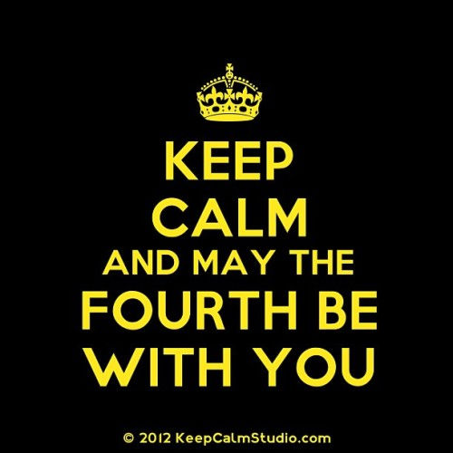 #keep #calm #maythefourthbewithyou #lol #starwars #nerd #geek