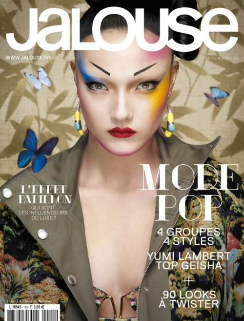 Jalouse March 2013: Yumi Lambert
