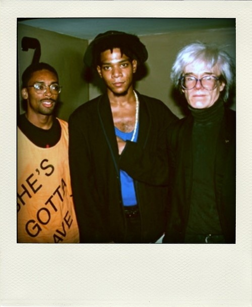 chaboneobaiarroyoallende:  Lee, Basquiat and Warhol