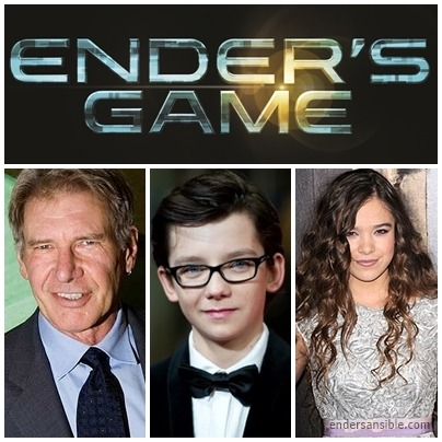 Harrison Ford, Asa Butterfield, and Hailee Steinfeld talk 'Ender's Game' movie http://www.endersansible.com/2013/04/15/asa-butterfield-harrison-ford-and-hailee-steinfeld-talk-enders-game-movie/