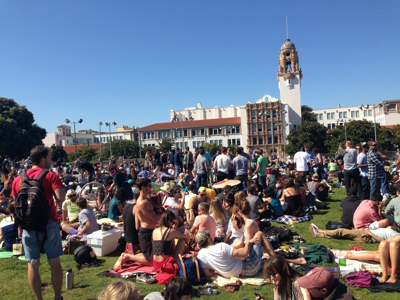 Saturday at Dolores Park