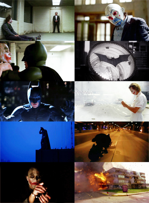 sexramirez:  50 Really Good Movies : 1/50 » The Dark Knight         - How could you want to raise children in a city like this?  - Well, I grew up in Gotham, and I turned out all right.