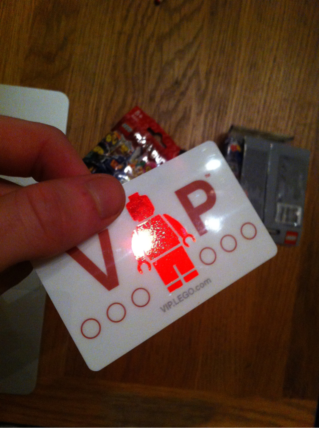 It's official I'm a LEGO vip