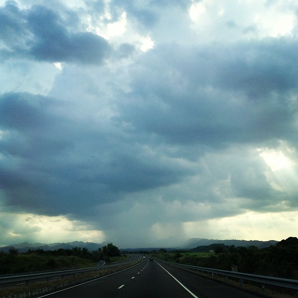 #Bataan bound. #clouds #sky #philippines (at SCTEX)