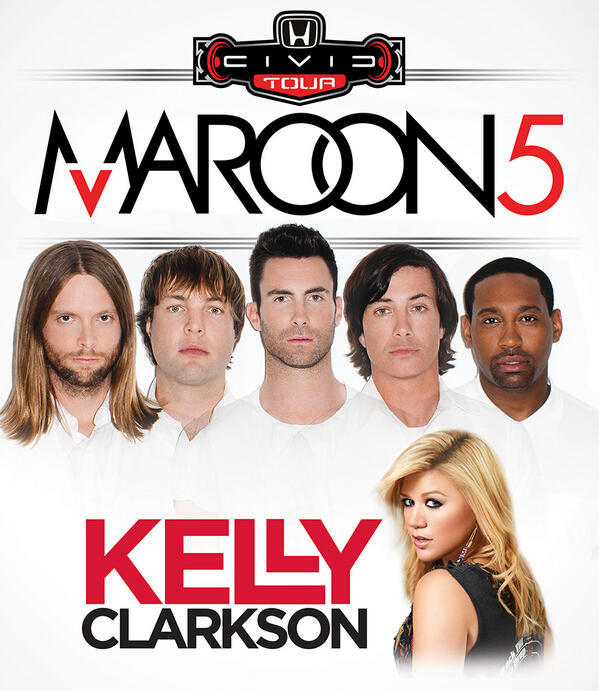 Maroon 5 - Presale tickets for Kelly's upcoming tour with @Maroon5 are now on sale here:   - Team KC