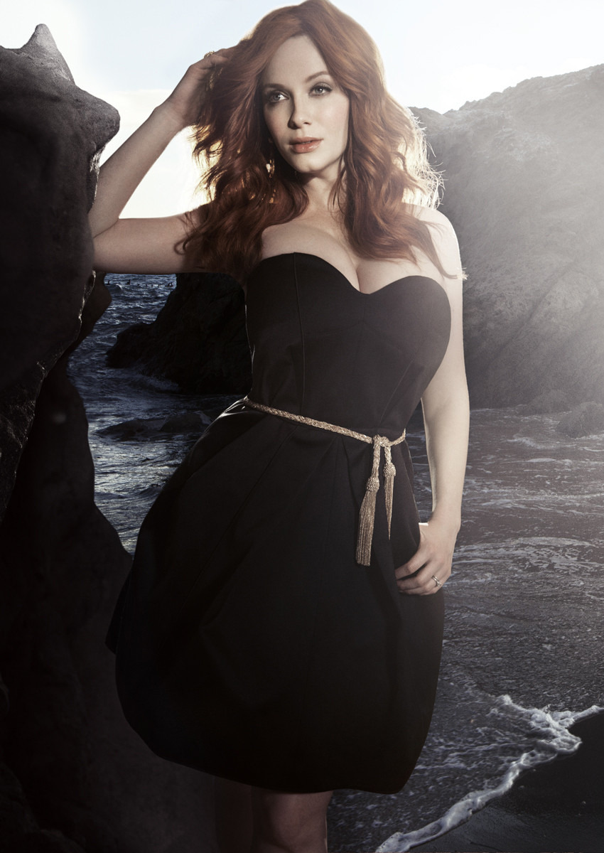 Christina Hendricks by Kurt Iswarienko