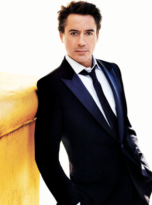 Robert Downey Jr for VOGUE Magazine