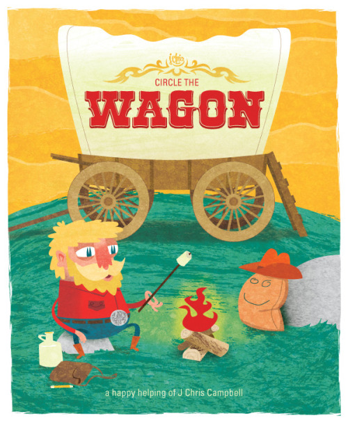 Circle The Wagon  New book of recent Art, Illustration and Comics.