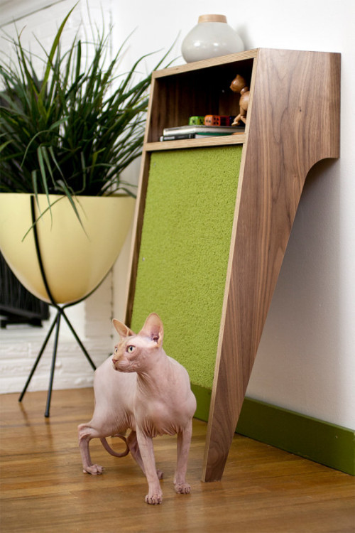 aros:  scratch pads into storage : by Modernist Cat  For Drea