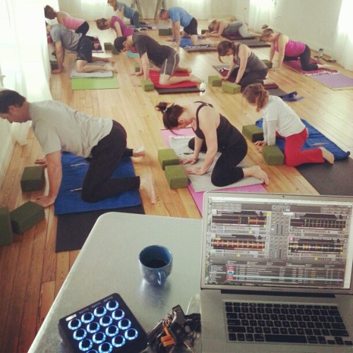 Yoga dj (at Opal yoga)