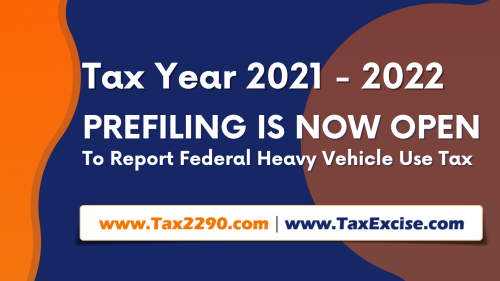 Federal Vehicle Use Tax - Form 2290 openedfor Form 2290 the upcoming HVUT (2290) Tax Period July 2021 through June 2022. Starting from June 1, 2021 truckers who has to report and pay the 2290 vehicle use taxes can get an access to the website to prepare and pay 2290 taxes well ahead of the schedule, which is supposed to start from July 1, 2021. #Form 2290 #Form 2290 efile  #Form 2290 pre file  #Form 2290 online #2290 efile #2290 tax online filing #Prefiling 2290 #Pre file 2290