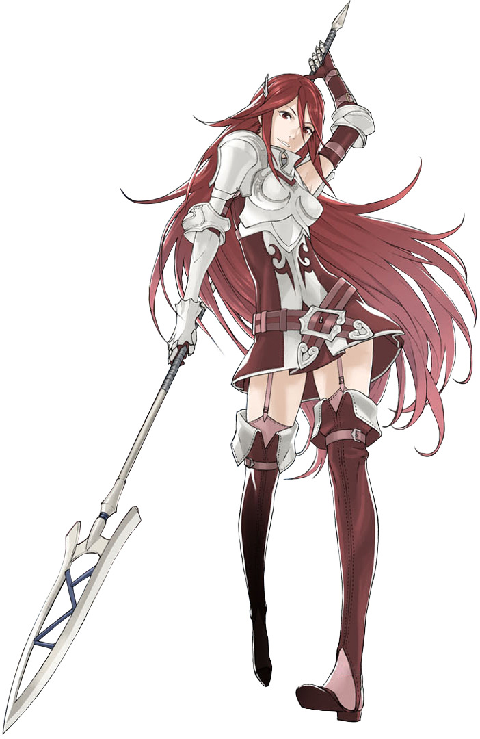 "star457:  ""Now you've angered me!"" -Cordelia when using Sol skill or unleashing a critical hit."