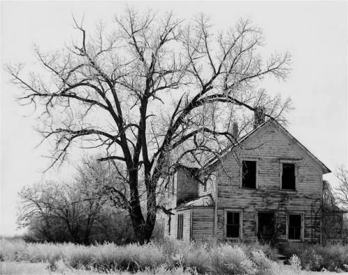 fewthistle:  Abandoned Farmhouse. Nebraska, 1938. Photographer: John Vachon