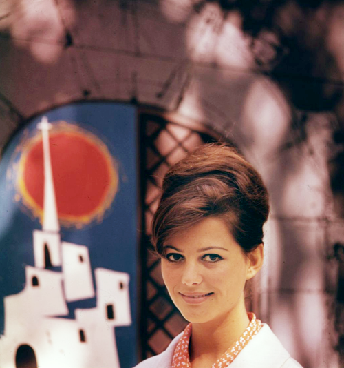 Claudia Cardinale in Circus World, 1964. (x)