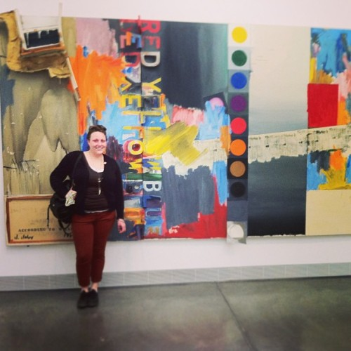 Love me some #jasperjohns (at Philadelphia Museum of Art)